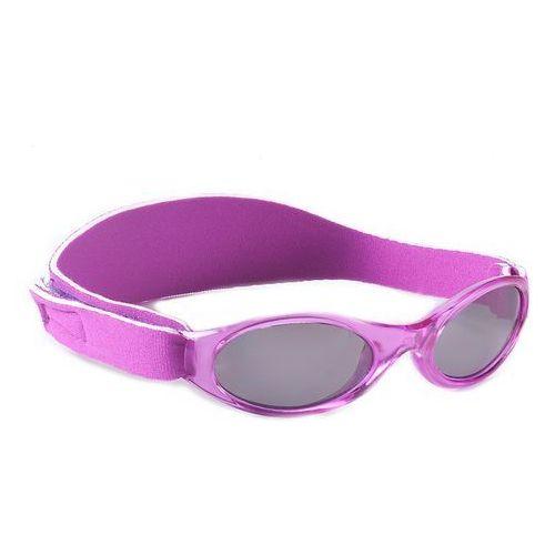 Okulary przeciwsłoneczne dzieci 2-5lat UV400 BANZ - Purple