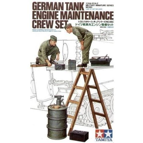 German Tank Maintenance Crew