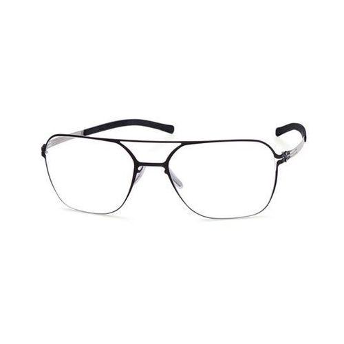 Ic! berlin Okulary korekcyjne m1310 christoph p. black pearl