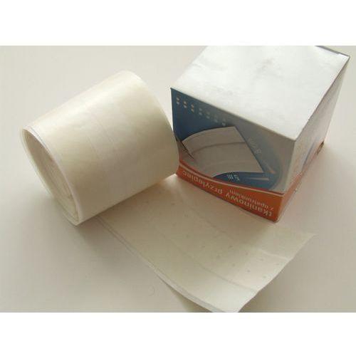 Plaster z opatrunkiem na tkaninie 8cm x 5m