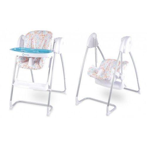 Lionelo Milan Plus Krzesełko do karmienia niebieskie - DARMOWA DOSTAWA!!! (5902581653185)