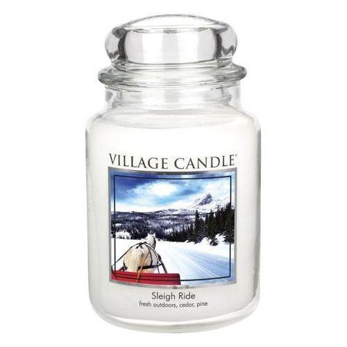 Village Candle Świeczka zapachowa Zimowa przejażdżka - Sleigh ride, 645 g, 645 g