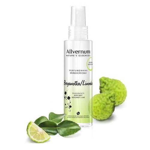 Allverne nature's essences mgiełka do ciała perfumowana bergamotka & limonka 125ml (5901845530804)