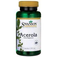 Swanson Acerola 500 mg 60 kapsułek (0087614116693)