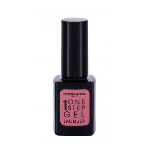 Dermacol one step gel lacquer lakier do paznokci 11 ml dla kobiet 02 ancient pink - Super przecena