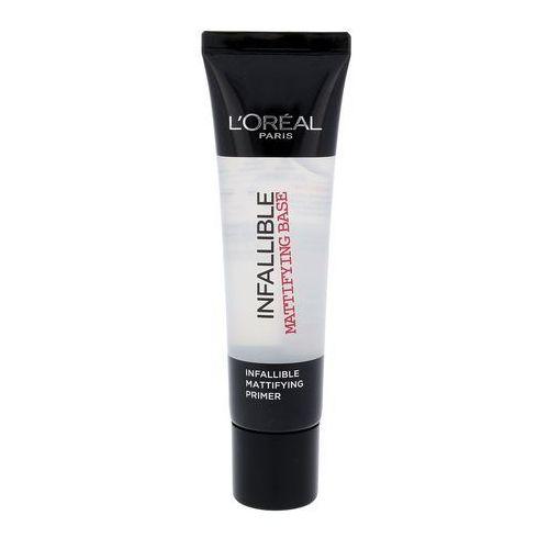 Make-up designer infallible matt primer priming basis baza pod podkład do makijażu L'oréal paris - Bardzo popularne