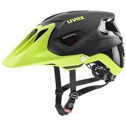 quatro integrale kask rowerowy, black lime mat 52-57cm 2020 kaski rowerowe marki Uvex