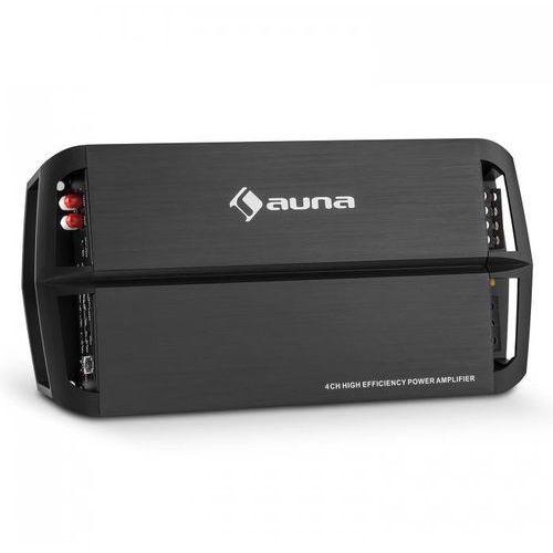 Auna amp490bk 4-kanałowy wzmacniacz samochodowy 360w klasa a/b (4260414896101)