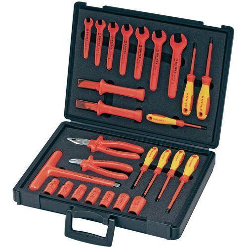 9632a408fd85c Zestaw narzędzi walizka na narzędzia ze sprzętem izolowanym 26 szt ...