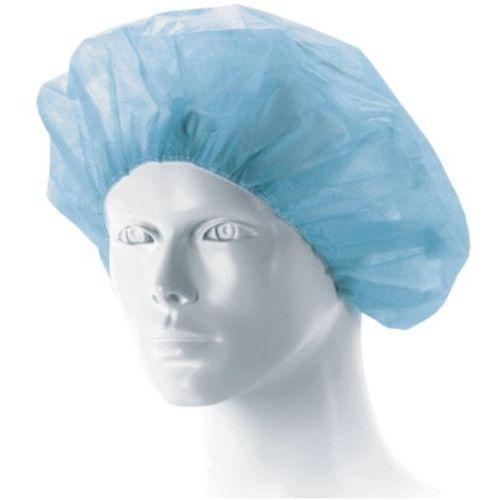 Tzmo Czepek pielęgniarski matodress - beret, niebieski, jałowy 1 szt