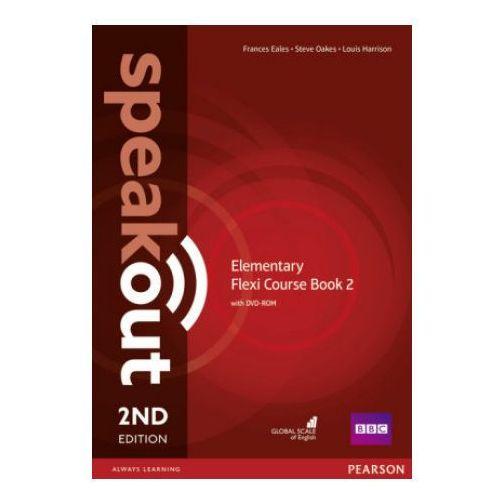 Speakout 2ed Elementary. Flexi Coursebook 2 + DVD, oprawa broszurowa