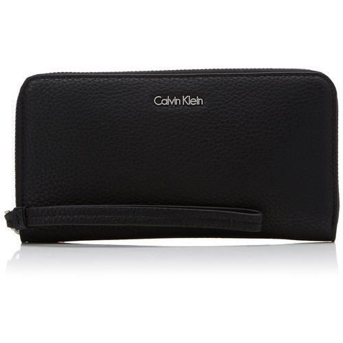 Calvin Klein EDIT LARGE ZIP AROUND Portfel black, K60K603810