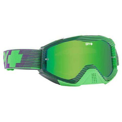 Spy Gogle narciarskie klutch blocked green - smoke w/ green spectra (+clear anti fog w/ p