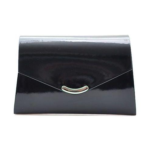3ac62525fe064 Modna kopertówka damska ko16 czarna połysk (Arturo) - sklep ...