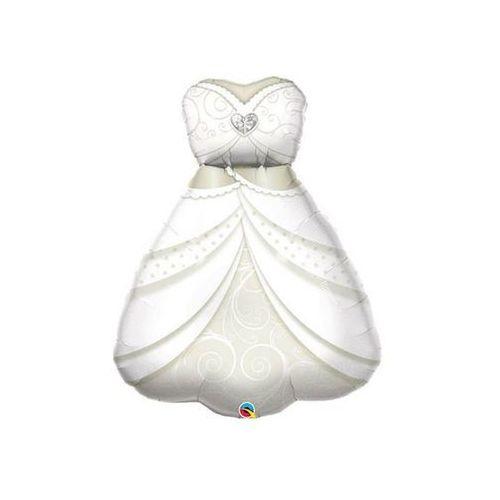 Balon foliowy suknia ślubna - 97 cm - 1 szt. marki Go