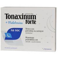 Tonaxinum Forte + Melatonina na noc x 60 tabletek - Data ważności 30-05-2019r.