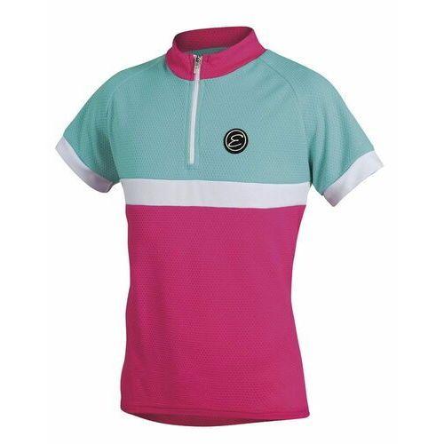 Etape koszulka rowerowa bambino pink/aqua 152/158