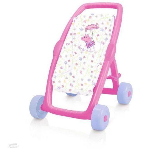 Smoby Wózek dla lalek peppa spacerówka (3032162502068)