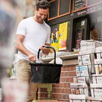 Koszyk na zakupy reisenthel carrybag czarny (rbk7040)
