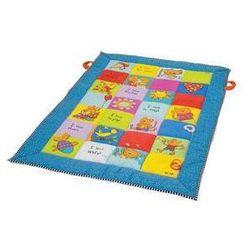 Mata edukacyjna dla dzieci - kolorowe kwadraty marki Taf toys