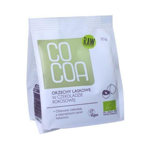 COCOA 70g Orzechy laskowe w czekoladzie kokosowej Bio
