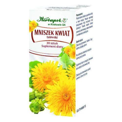 Herbapol kraków Mniszek kwiat x 30 tabletek