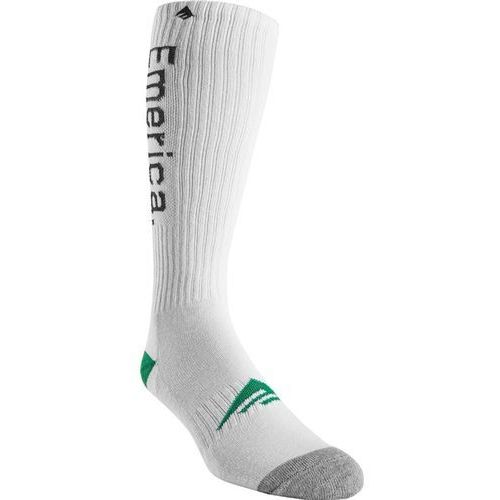 Emerica Skarpetki - knee high sock white (100) rozmiar: os