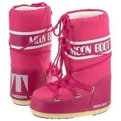 Śniegowce nylon bouganville kids (mb14-c) marki Moon boot
