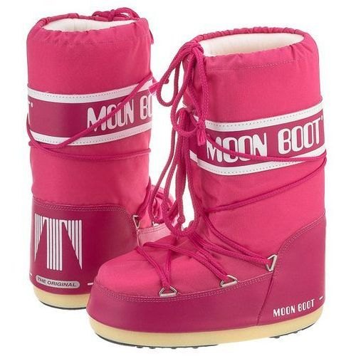 Moon boot Śniegowce nylon bouganville kids 14004400062 (mb14-c)