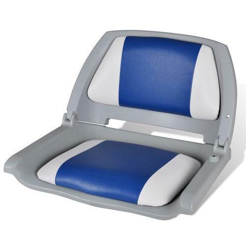 Fotel z oparciem, wyposażenie łódki (41 x 51 48 cm) Vidaxl