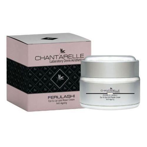 Chantarelle (detal) Chantarelle ferulashi eye & lip lipid repair cream bezzapachowy lipidowy krem regenerujący barierę lipidową skóry wokół oczu i ust (cd0620)