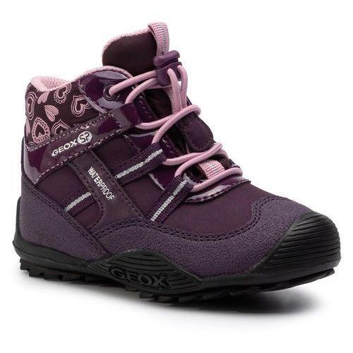 Geox Śniegowce - j atreus g.b wpf a j847ha 00450 c8224 m purple/pink