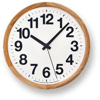 Lemnos Zegar ścienny clock a naturalny (4260278082139)