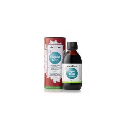 Płyn BIO Liquid Iron - Żelazo w płynie (200 ml) Viridian