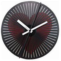 Zegar ścienny 'Kinegram Heart' (czerwony) Nextime