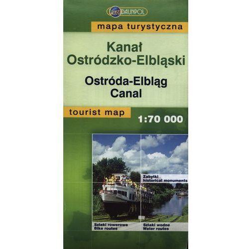 Kanał Ostródzko-Elbląski mapa turystyczna 1: 70 000, Daunpol