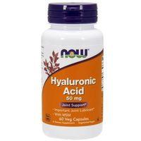 Kapsułki Hyaluronic Acid 50mg + MSM 450mg 60 kaps.