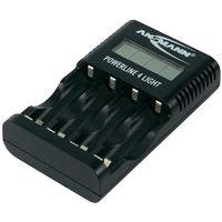 Ładowarka do akumulatorków Ansmann Powerline 4 light 1001-0011/510, AAA, AA, Powerline 4 light