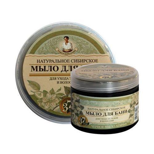 Receptury babci agafii mydło ziołowe - naturalne czarne 500ml marki Bania agafii