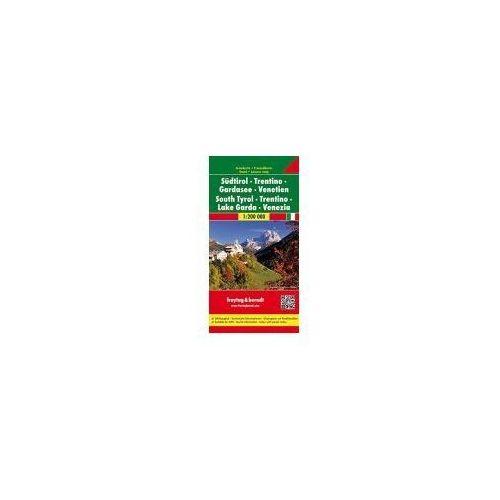 Tyrol Południowy mapa 1:200 00 Freytag & Berndt - Freytag & Berndt OD 24,99zł DARMOWA DOSTAWA KIOSK RUCHU