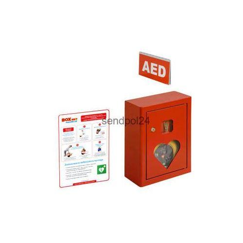 Boxmet medical Szafka na aed z alarmem dźwiękowym 150
