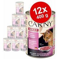 Korzystny pakiet Animonda Carny Adult, 12 x 400 g - 2 smaki, Mieszany pakiet 3 (4017721837227)