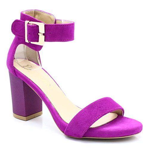 2661/2 fuksja - wygodne sandały - różowy ||fioletowy, Tymoteo