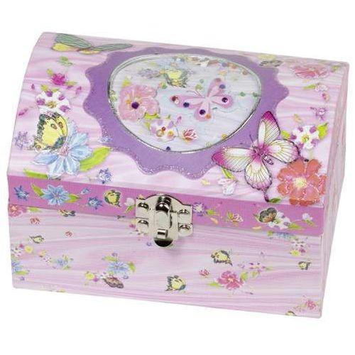 Pozytywka dla dzieci szkatułka Motylek
