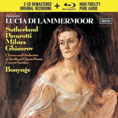 Donizetti Lucia di Lammermoor (CD + Blu-ray Audio) - Luciano Pavarotti