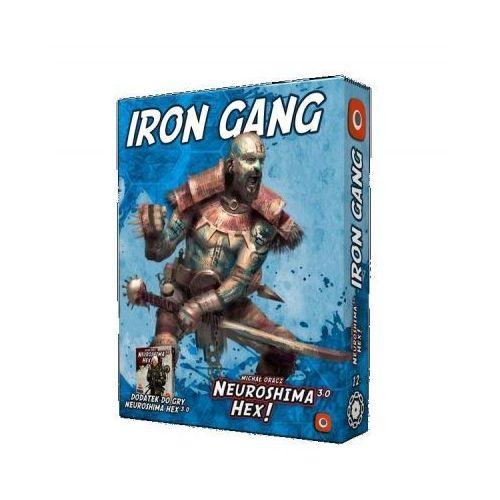 Portal games Gra neuroshima hex 3.0: iron gang - darmowa dostawa od 199 zł!!!