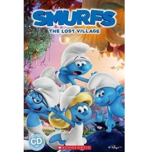 Lthe smurfs: the lost village reader level 3 + cd, Scholastic