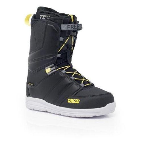 Buty snowboardowe freedom (black/yellow) 2020 marki Northwave