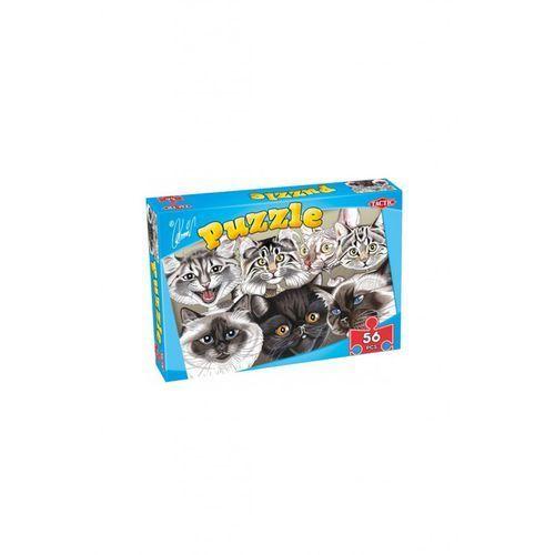 Karykatury kotów i psów - puzzle 56 marki Tactic