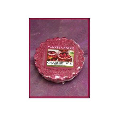 Żurawinowy poncz (cranberry twist) - wosk zapachowy Yankee candle